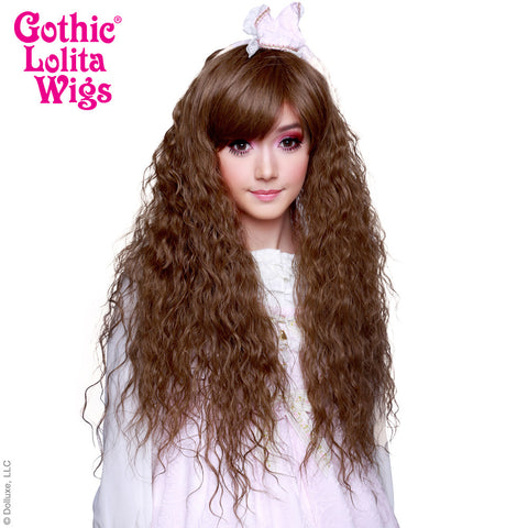 Gothic Lolita Wigs® <br> Rhapsody™ Collection - Golden Chestnut Brown Mix -00507