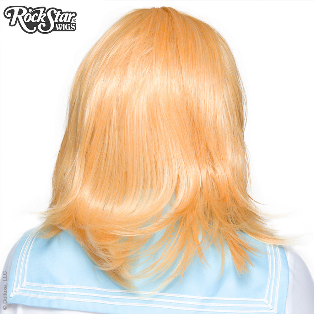 Cosplay Wigs USA™ <br> Boy Cut Shag - Golden Blonde -00291