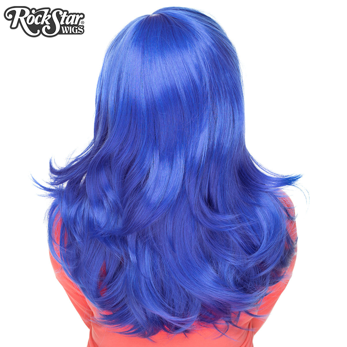 "RockStar Wigs® <br> Hologram 22"" - Royal Blue Mix - 00729"