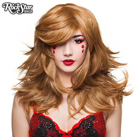 "RockStar Wigs® <br> Hologram 22"" - Coffee Latte - 00637"