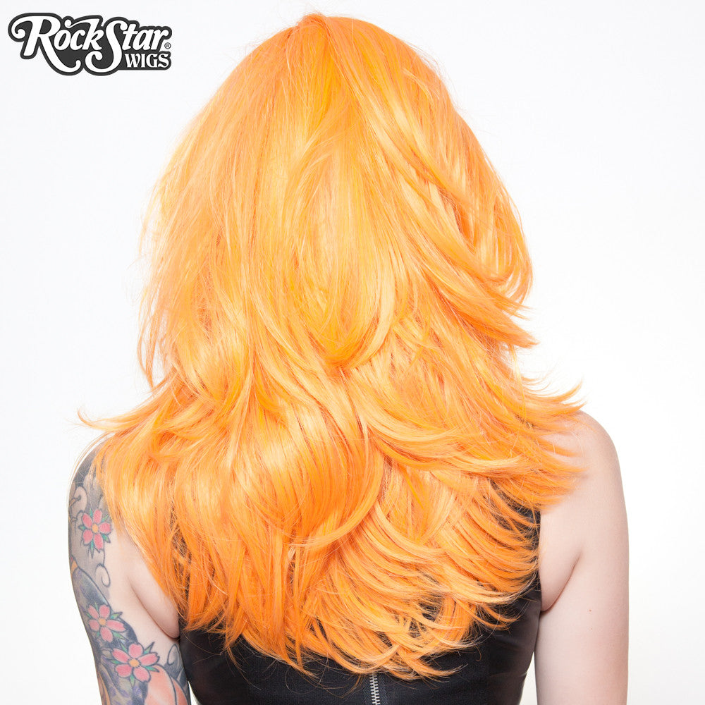 "RockStar Wigs® <br> Hologram 22"" - Pumpkin Mix 00646"