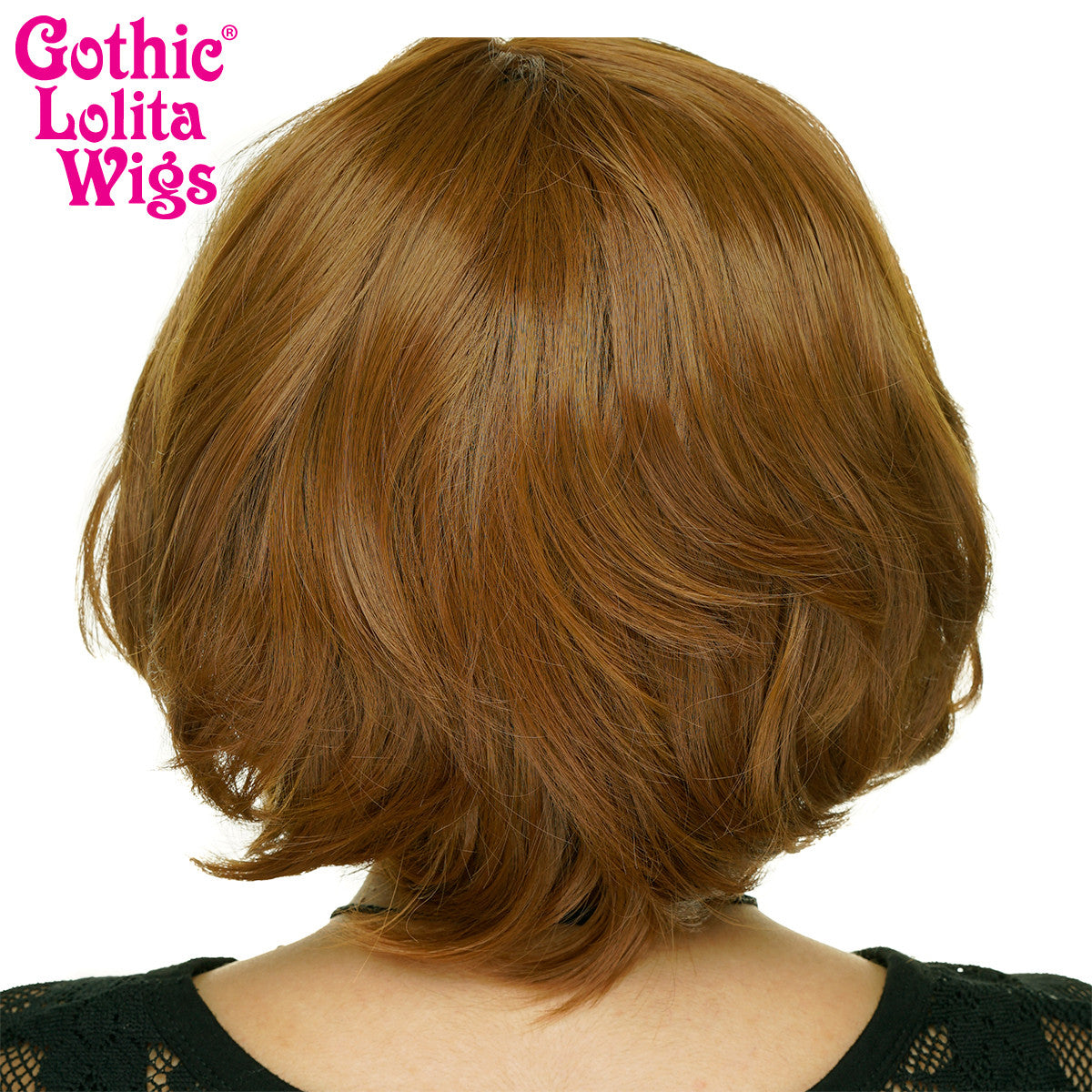 **RETIRED** Lace Front Dainty Bob - Medium Brown Blend - 00757
