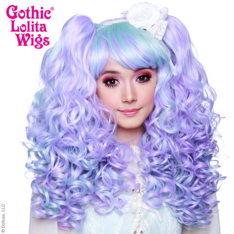 Gothic Lolita Wigs® <br> Baby Dollight™ Collection - Lavender & Mint Blend -00009