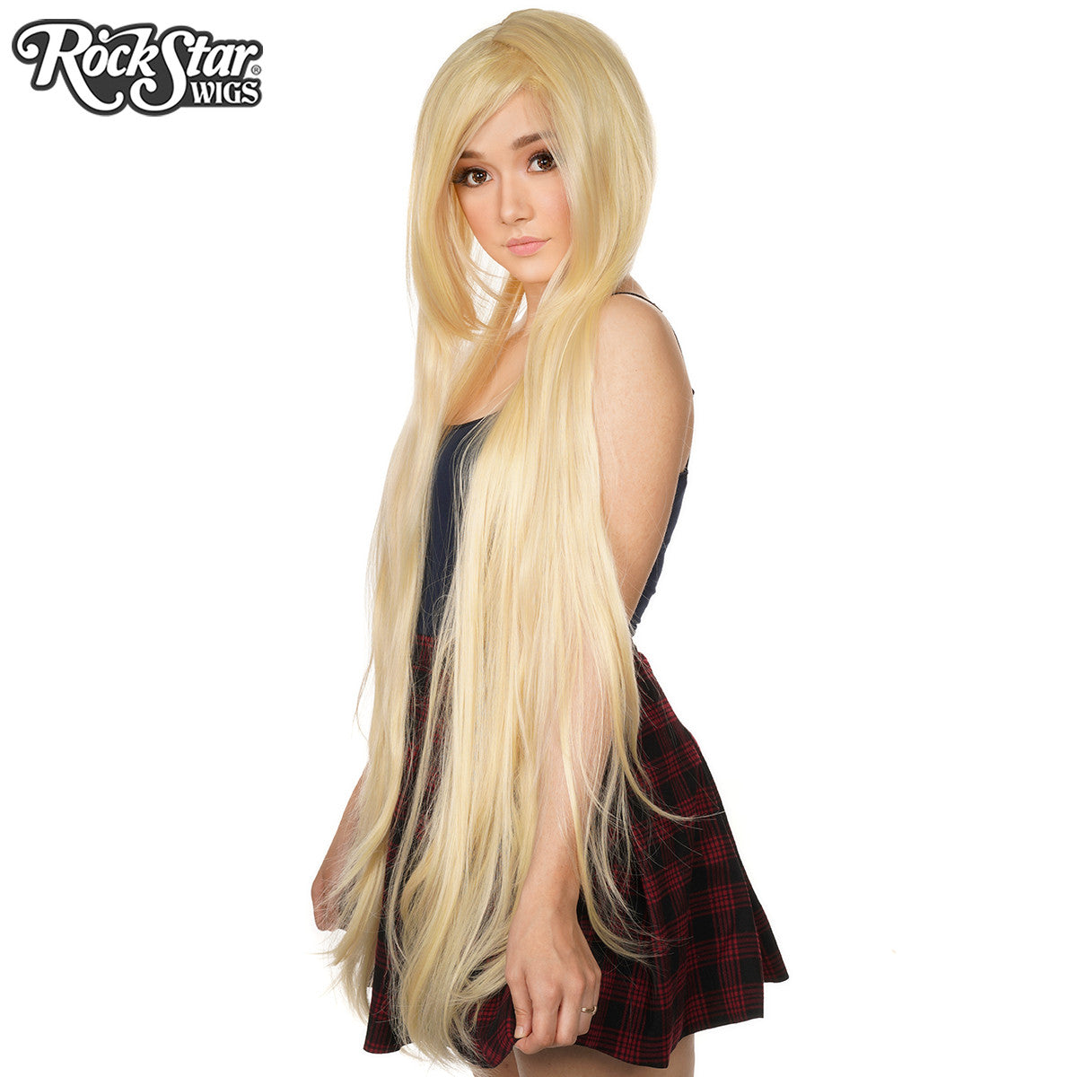 "Cosplay Wigs USA™ <br> Straight 120cm/47"" - Light Blonde Mix -00242"