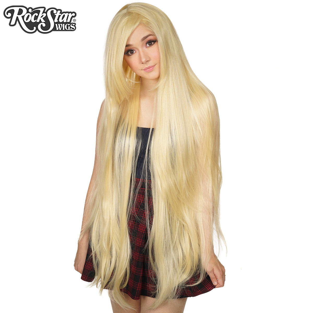 Cosplay Wigs Usa Straight 120cm 47 Quot Light Blonde Mix