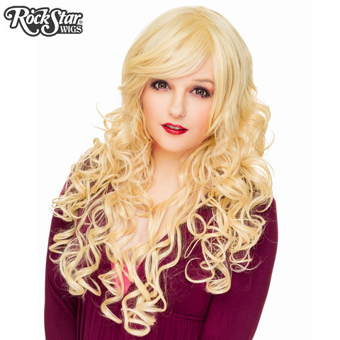 "Cosplay Wigs USA™ <br> Curly 70cm/28"" - Light Blonde -00307"