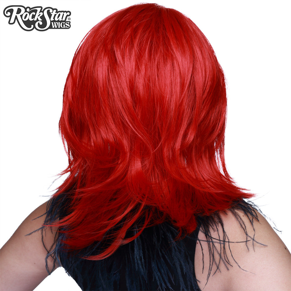 Cosplay Wigs USA™ <br> Boy Cut Shag - True Red -00302