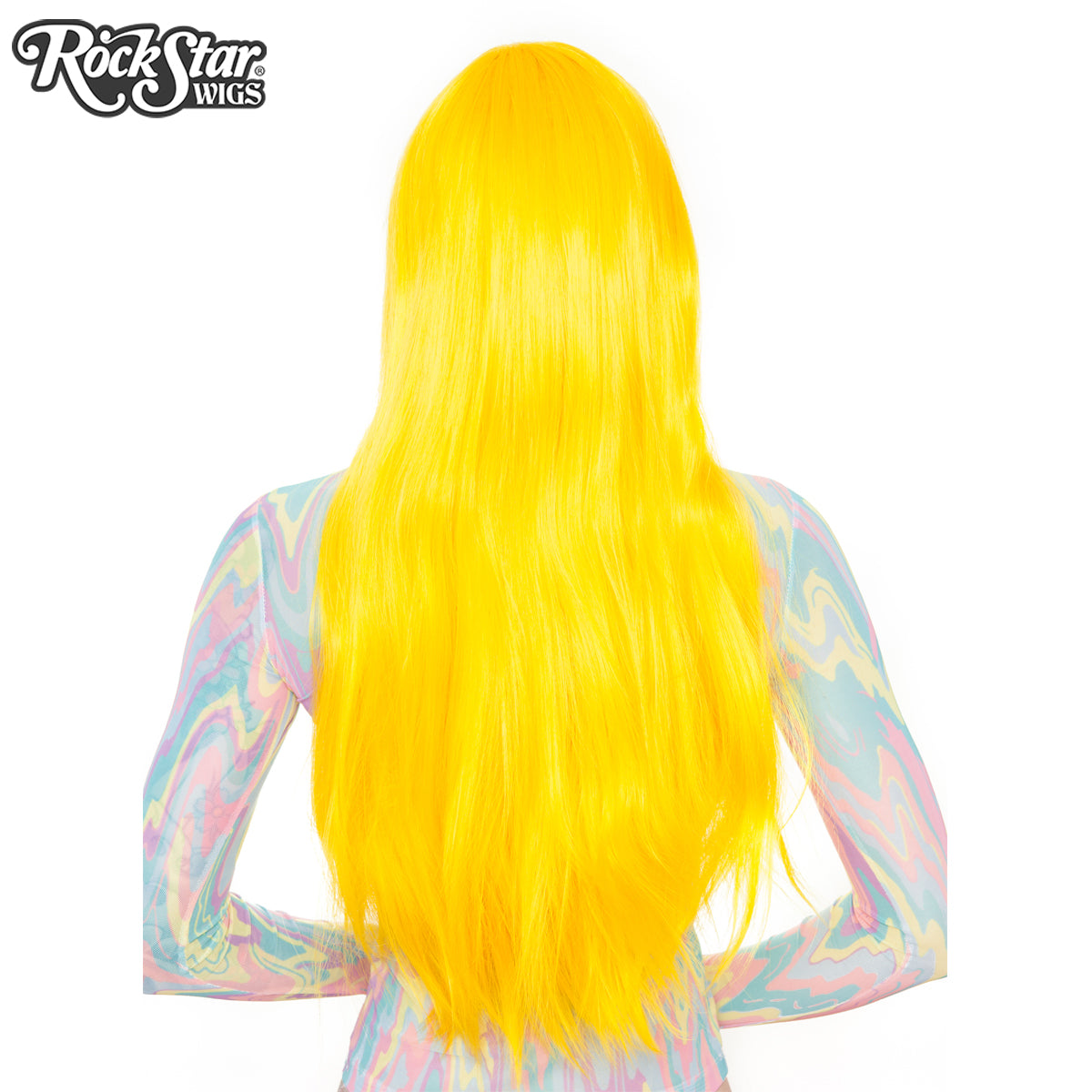 "Cosplay Wigs USA™ <br> Straight 70cm/28"" - Yellow 00549"