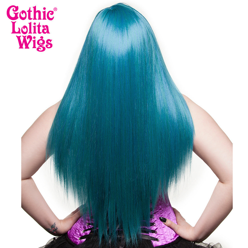 Gothic Lolita Wigs® <br> Bella™ Collection - Turquoise Mix - 00685