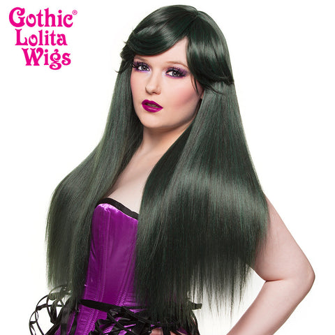 Gothic Lolita Wigs® <br> Bella™ Collection - Black Jade - 00678