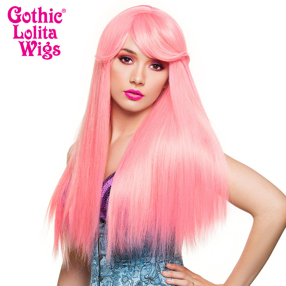 Gothic Lolita Wigs® <br> Bella™ Collection - Bubble Gum Pink (Deep Pink Mix) - 00679