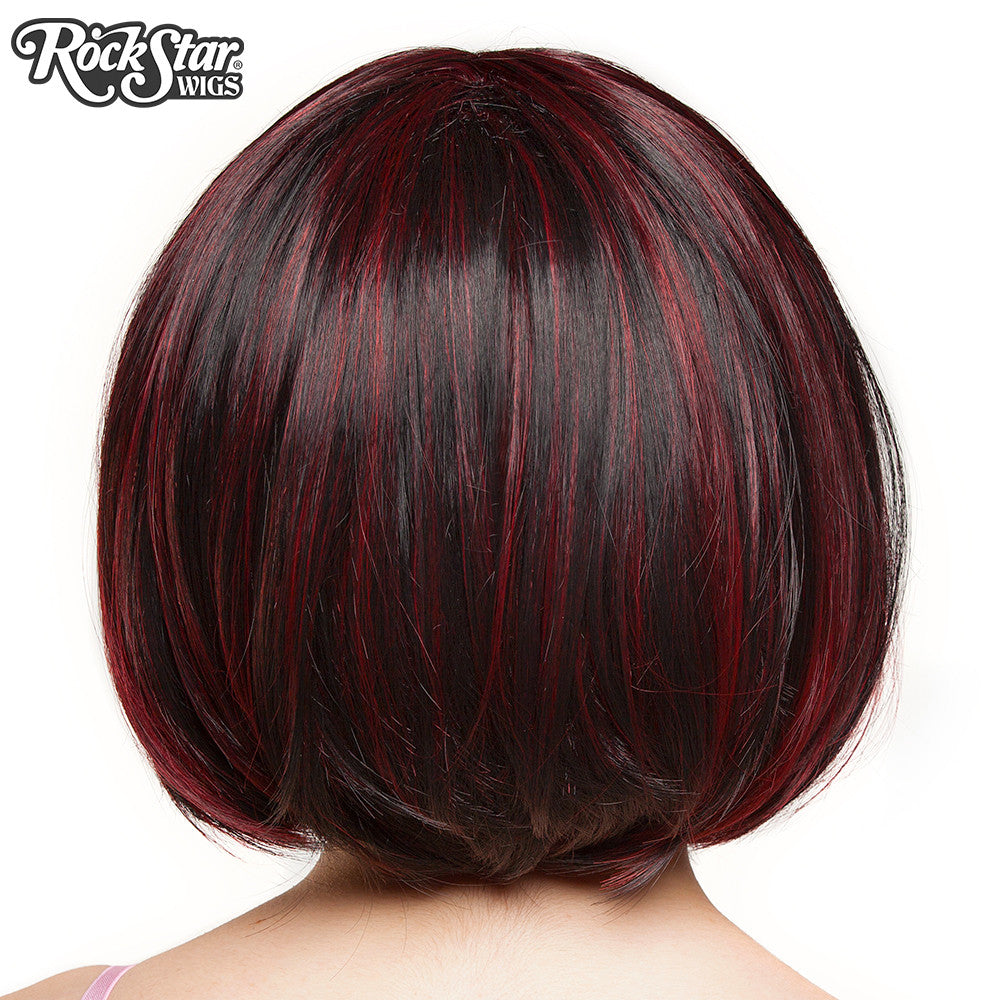 Rockstar Wigs Candy Girl Bob - Black Wine Blend - 00687 -7869