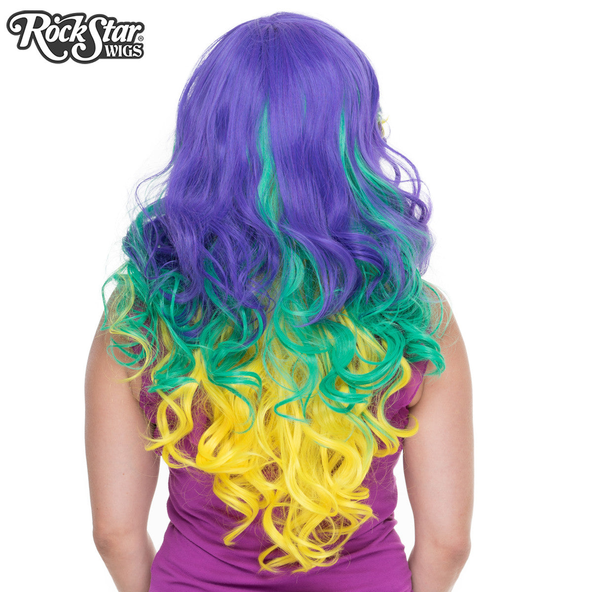 RockStar Wigs® <br> Triflect™ Collection -Mardi Gras -00832