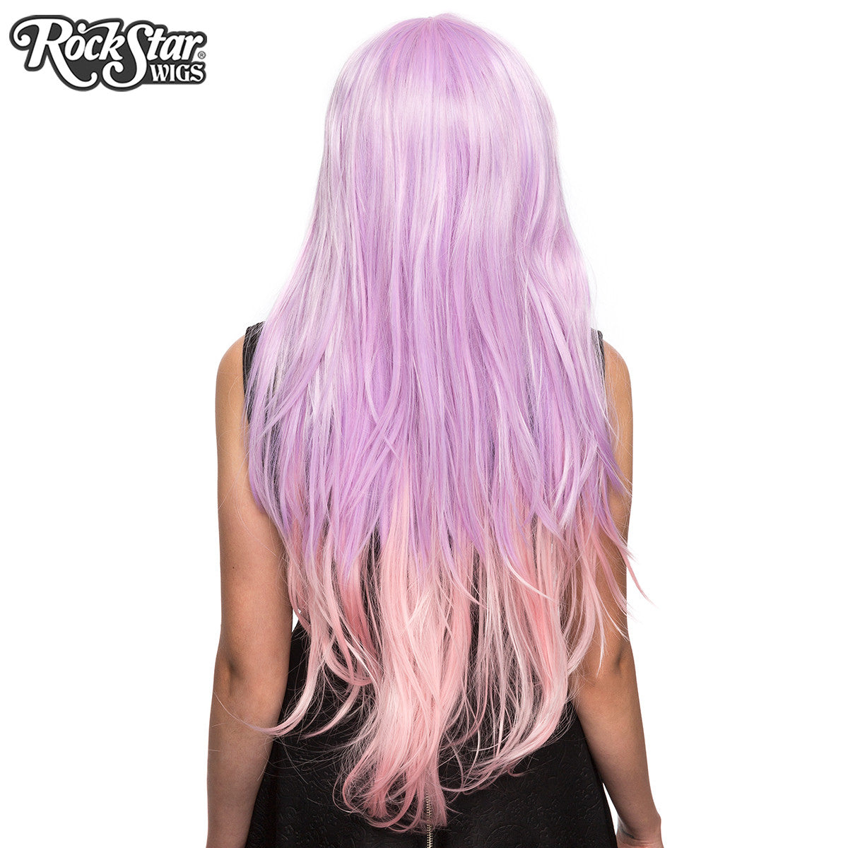 RockStar Wigs® <br> Ombre Alexa™ Collection - Lavender to Pink Fade -00200