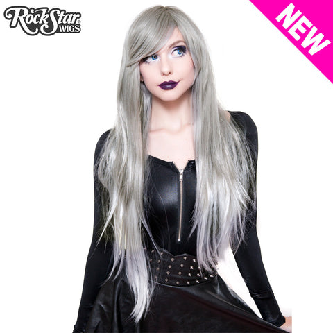 RockStar Wigs® <br> Ombre Alexa™ Collection - Grey Silver Fade -00201