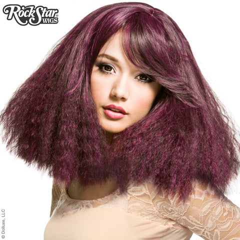 RockStar Wigs® <br> Dynamite™ Collection - Purple Detonation -00467