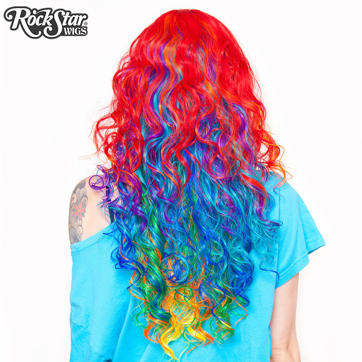 RockStar Wigs® <br> Rainbow Rock™ Collection - Hair Prism 1 -00218