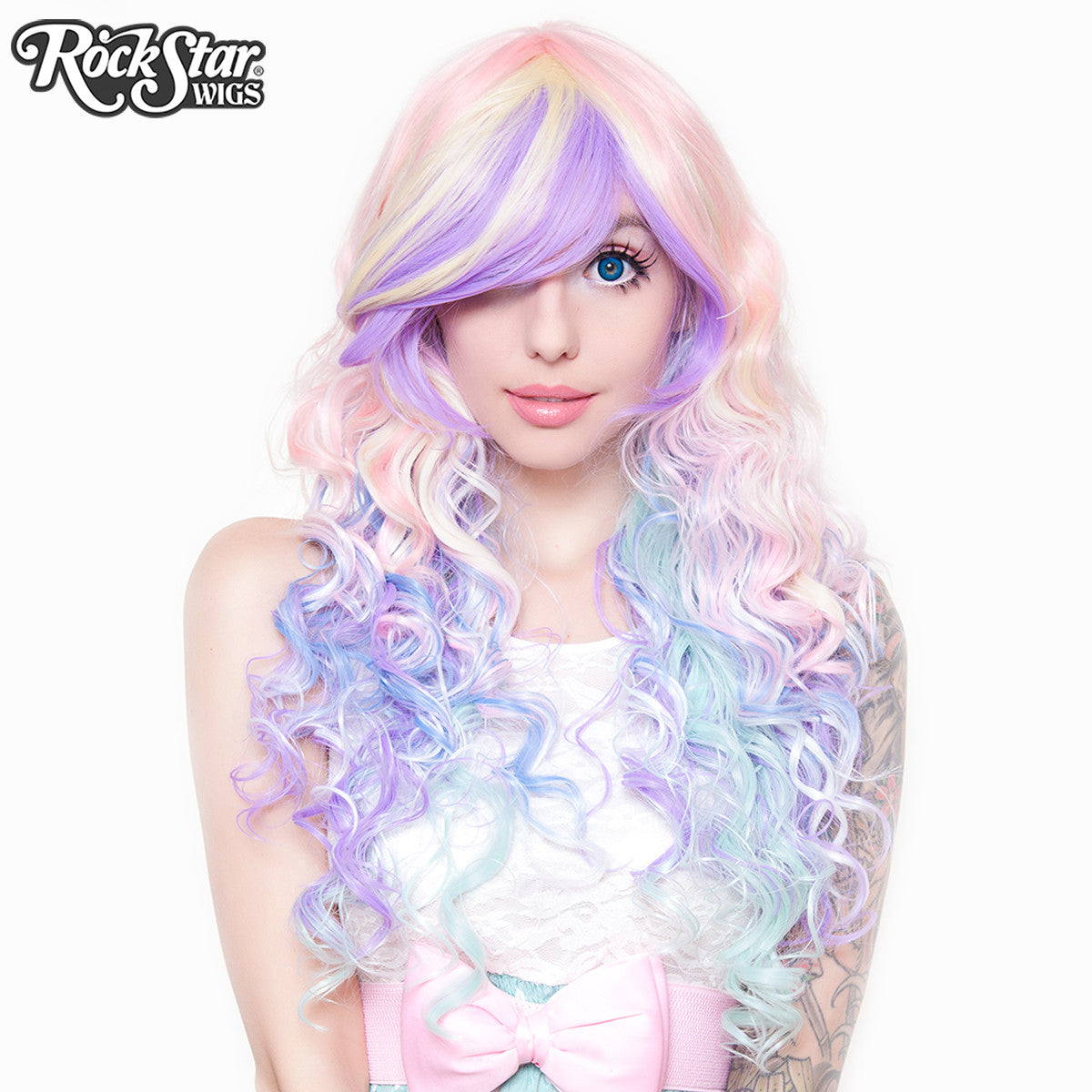 Rockstar Wigs 174 Rainbow Rock Collection Hair Prism 2