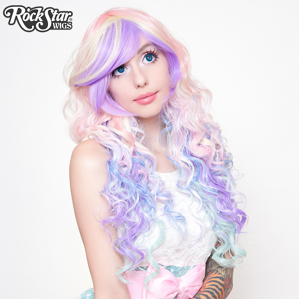 RockStar Wigs® <br> Rainbow Rock™ Collection - Hair Prism 2 (Pastel) -00219