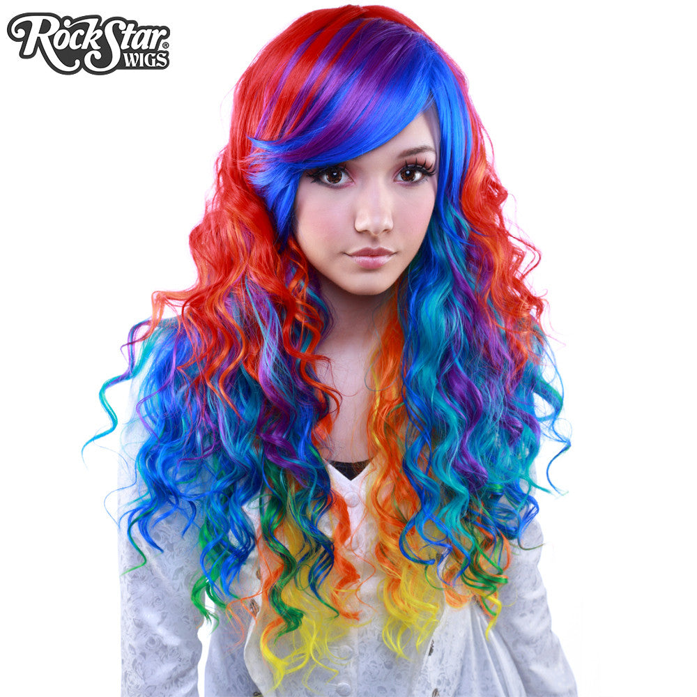 Rockstar Wigs 174 Rainbow Rock Collection Hair Prism 1