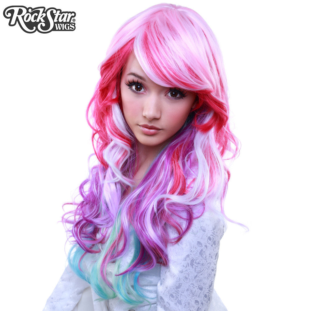 Rockstar Wigs 174 Rainbow Rock Collection Spring Bouquet