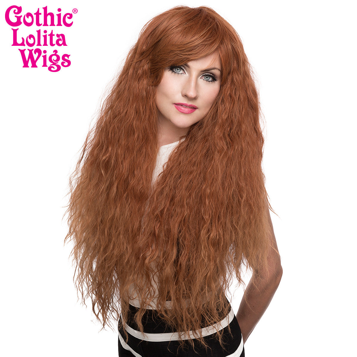 Gothic Lolita Wigs Store Rhapsody Collection Auburn