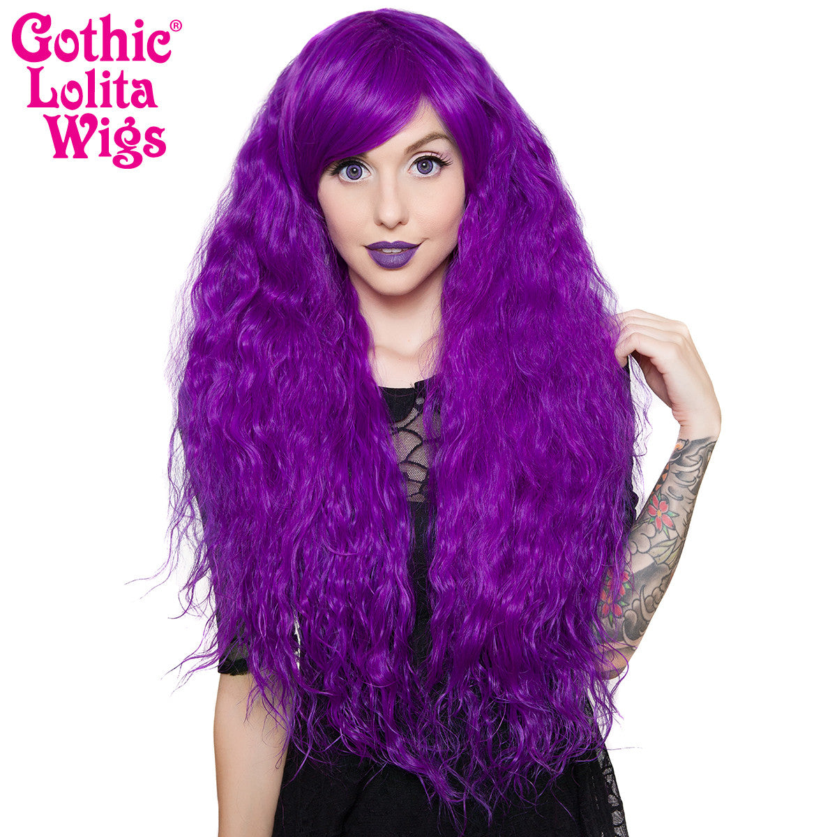 Gothic Lolita Wigs Store Rhapsody Collection Grape