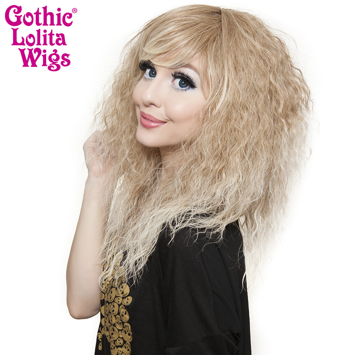 Gothic Lolita Wigs® <br> Rhapsody Short™ Collection - Blonde Fade -00893