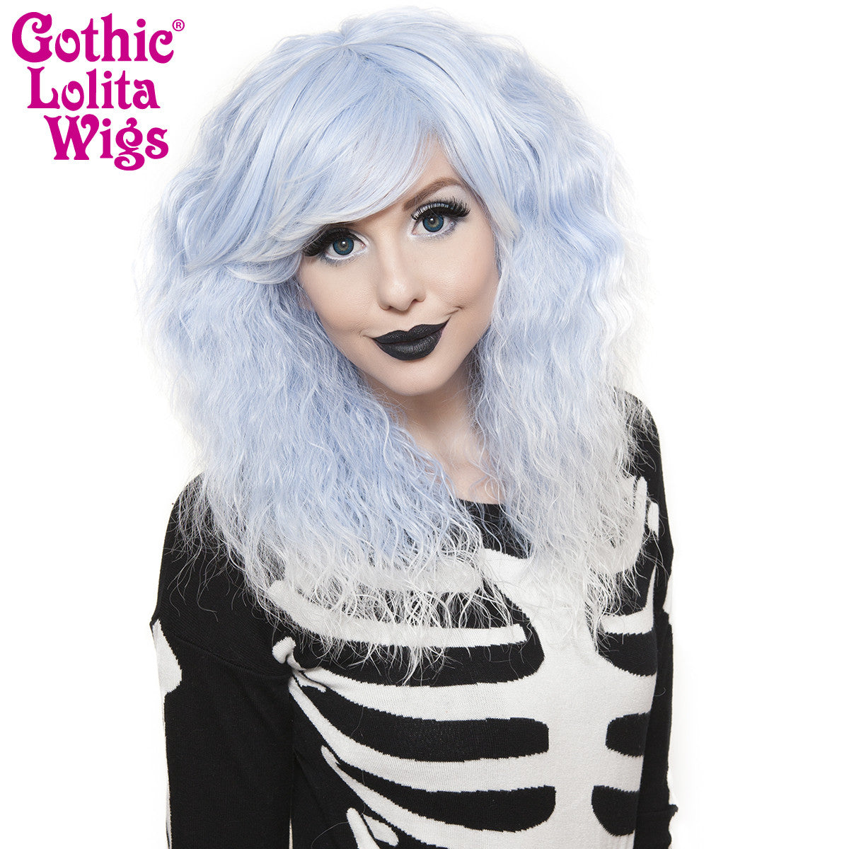 Gothic Lolita Wigs® <br> Rhapsody Short™ Collection - Sax Fade -00892