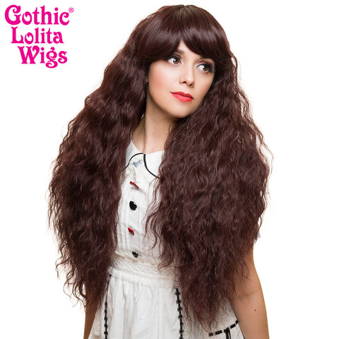 Gothic Lolita Wigs® <br> Rhapsody™ Collection - Black Mahogany Burgundy Mix -00509