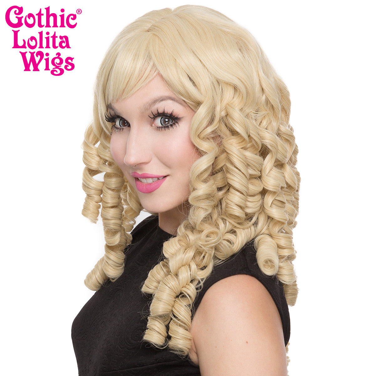 Gothic Lolita Wigs® <br> Ringlet Redux™ Collection - Blonde -00119