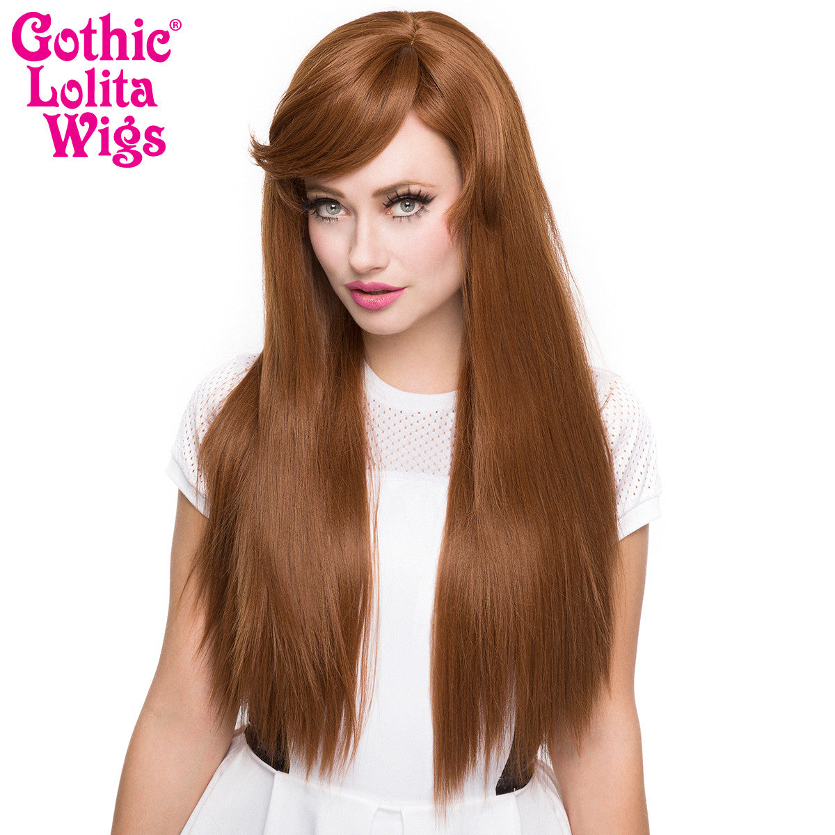 Gothic Lolita Wigs® <br> Bella™ Collection - Caramel Brown Mix -00423