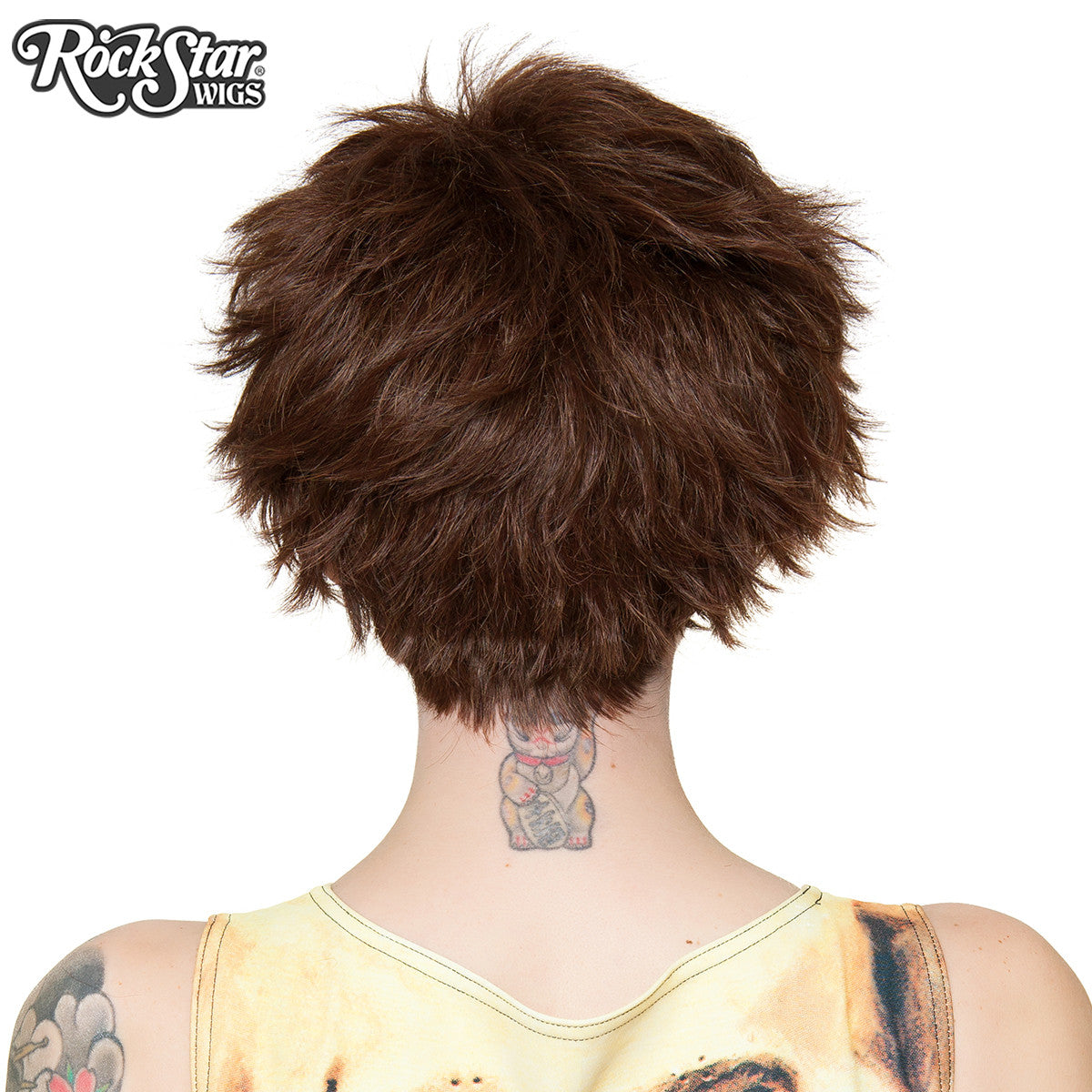 RockStar Wigs® Sassi Short - Brown -00555