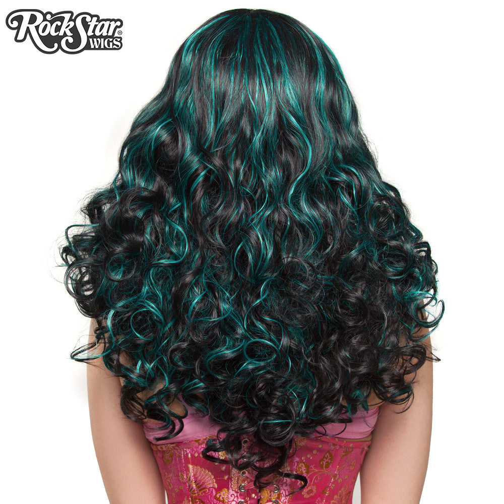 **RETIRED**  Show Girl Collection - Black Aqua Blend - 00671