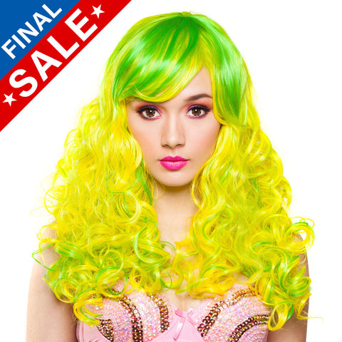 **RETIRED**  Show Girl Collection - Lime Green & Yellow Blend - 00722