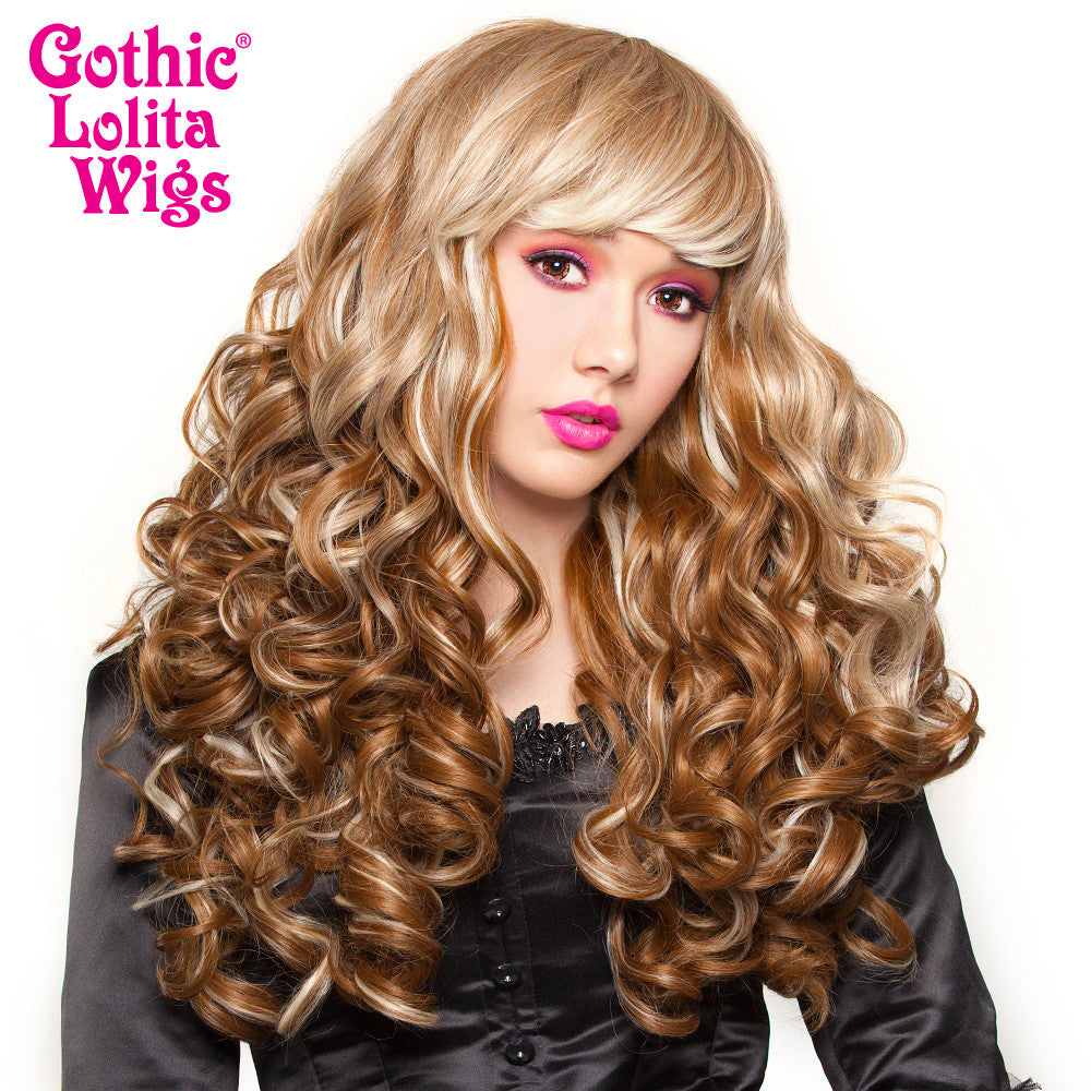 Gothic Lolita Wigs® <br> Spiraluxe 2 Collection - Dark Blonde Blend  - 00720