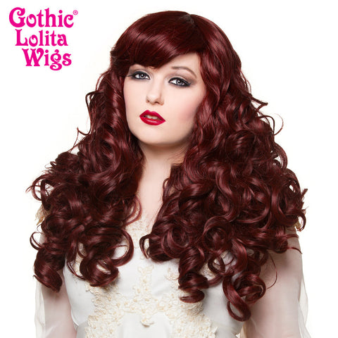 Gothic Lolita Wigs® <br> Spiraluxe 2 Collection - Scarlet -00131