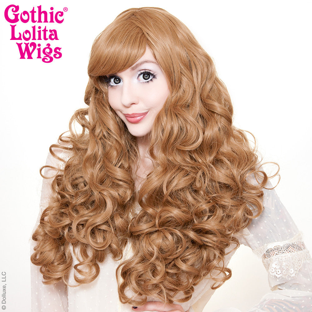 honey bee hair style wigs spiraluxe collection honeybee 5408 | Spiraluxe Honey Bee Milk Tea 2