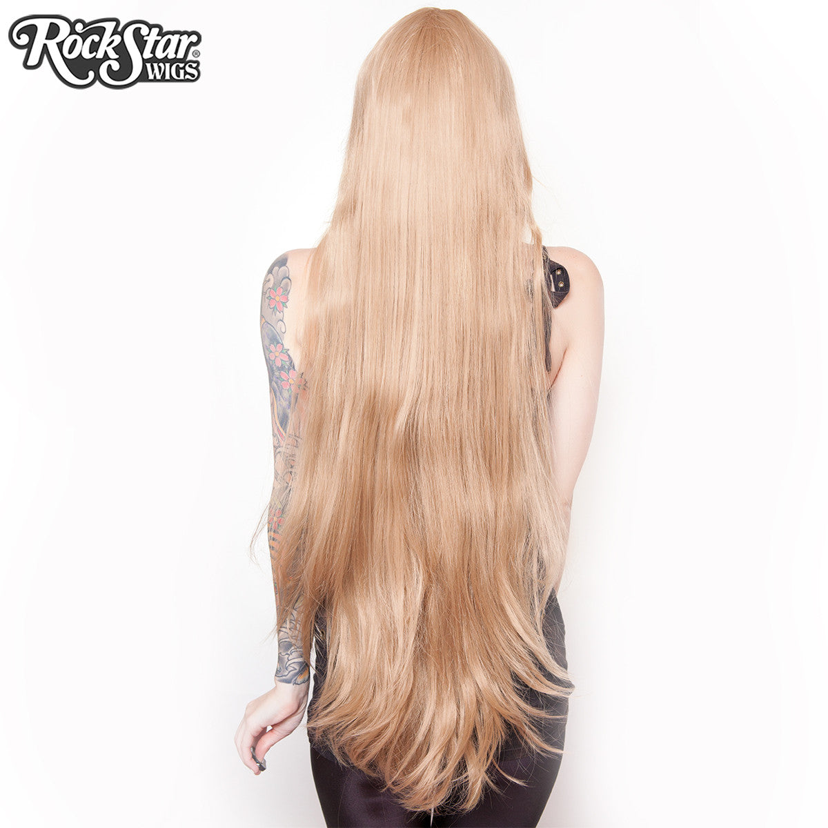 "Cosplay Wigs USA™ <br> Straight 100cm/40"" - Light Brown -00352"