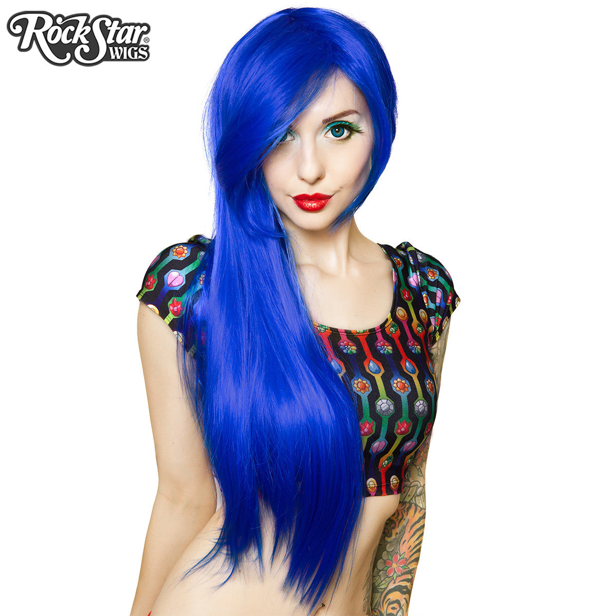 Cosplay Wigs Usa Straight 70cm 28 Quot Royal Blue 00236