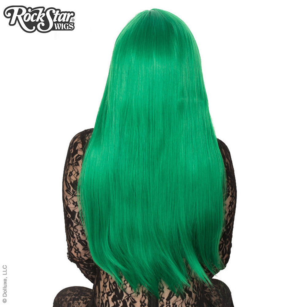 "Cosplay Wigs USA™ <br> Straight 70cm/28"" - Emerald Jade Green -00363"