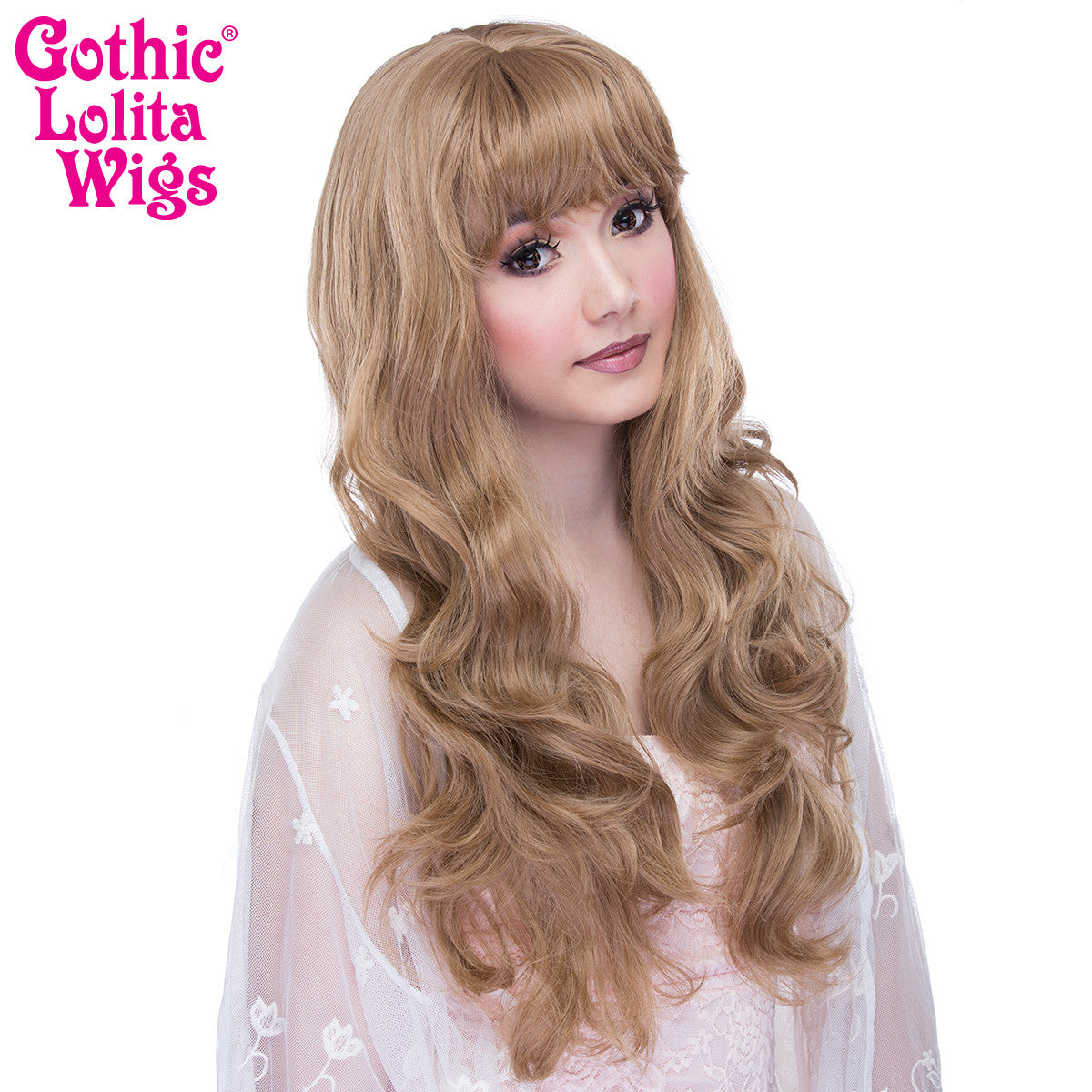 Gothic Lolita Wigs® <br>Ulzzang Collection - Honey Milk Tea Mix -00411