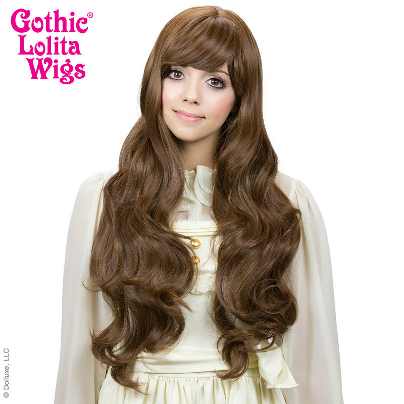 Gothic Lolita Wigs® <br>Ulzzang Collection - Golden Chestnut Brown Mix -00409