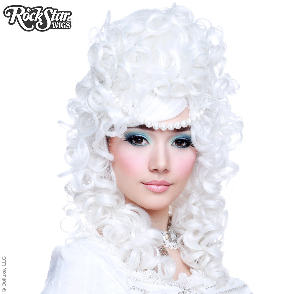RockStar Wigs® <br> Marie Antoinette Collection - White Lace -00197