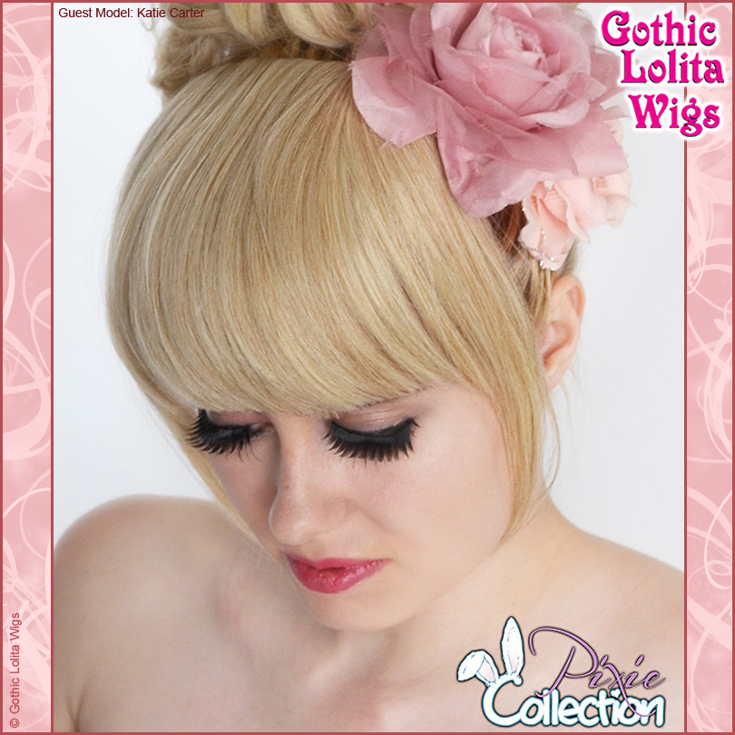 Swell Gothic Lolita Wigs Pixie Collection Bangs 1 Blonde Mix Hairstyle Inspiration Daily Dogsangcom