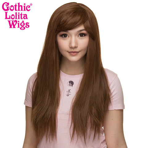Gothic Lolita Wigs® <br> Bella™ Collection - Golden Chestnut Brown Mix -00424