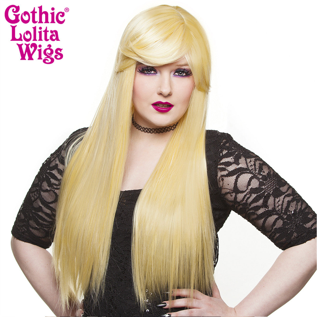 Gothic Lolita Wigs® <br> Bella™ Collection - Light Blonde Mix - 00682