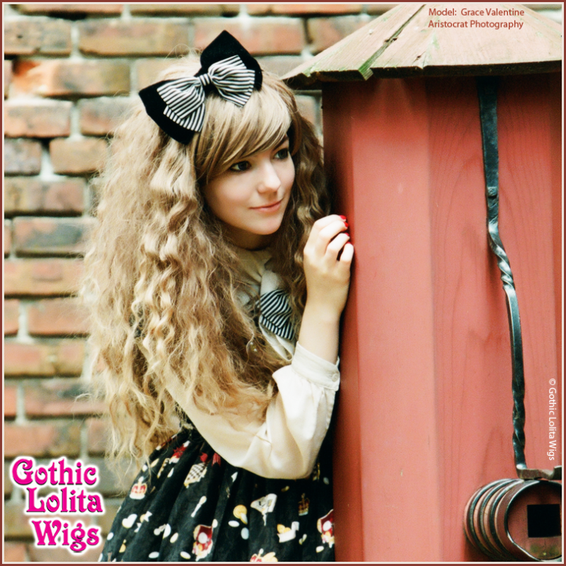 Gothic Lolita Wigs Ombre Hair Japanese Style