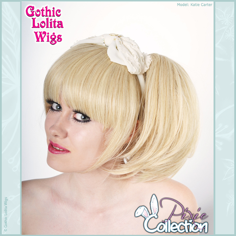 Gothic Lolita Wigs® <br> Pixie™ Collection - Bun 1 (Blonde Mix) -00076