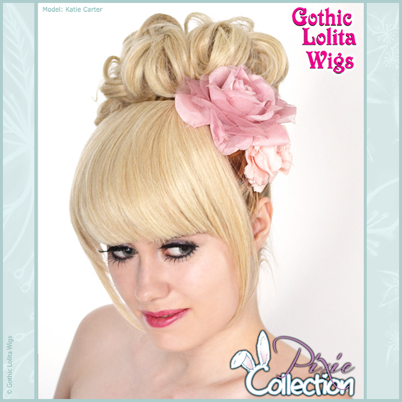 Gothic Lolita Wigs® <br> Pixie™ Collection - Bun 2 (Blonde Mix) -00079